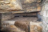 Catacombs network, Odessa, Ukraine — Stock Photo