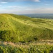 Spring landscape with Caucasus green mountains — Stock Photo #73061911