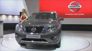 International Motor Show — Stock Video