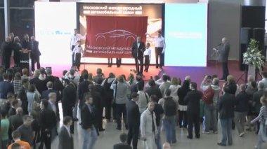 International Automobile Salon — ストックビデオ