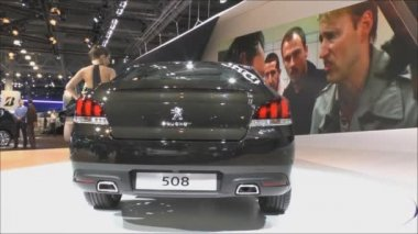 Moscow International Automobile Salon — Stock Video