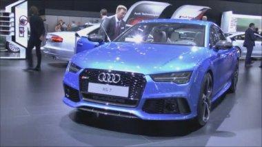 Audi RS7 Sportback — Vídeo stock