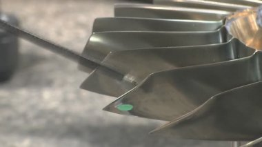 Mechanical processing a workpiece — Stock Video
