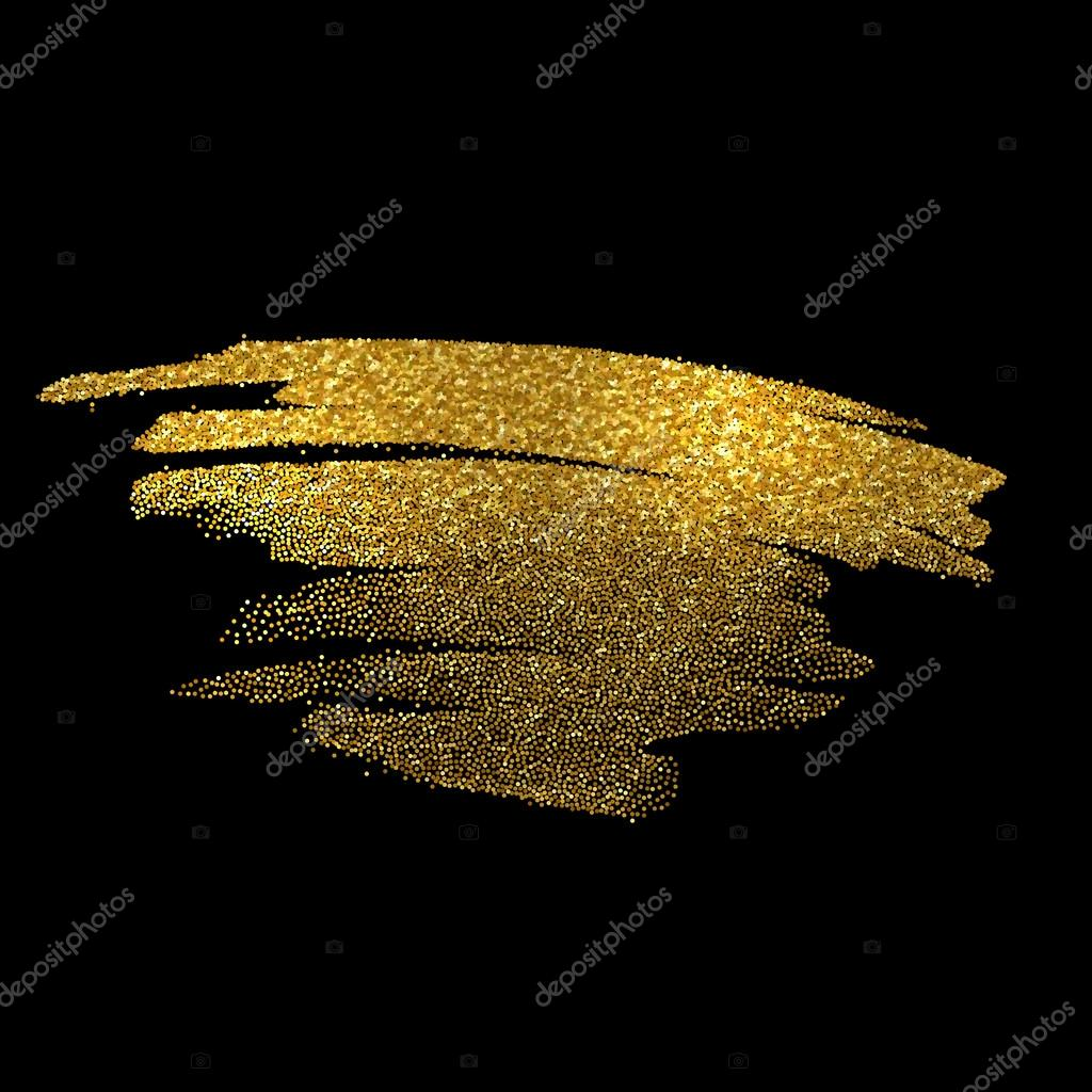 gold sparkles on black background gold glitter background