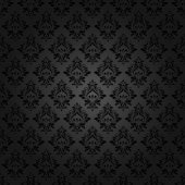 Abstract vintage seamless damask pattern — Vector de stock