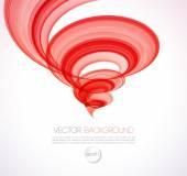 Abstract twist line  background. Template brochure design — Stock Vector