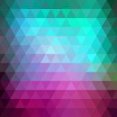 抽象的复古时髦几何背景. — 图库矢量图片