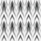 Vector seamless ikat ethnic pattern — Stock Vector