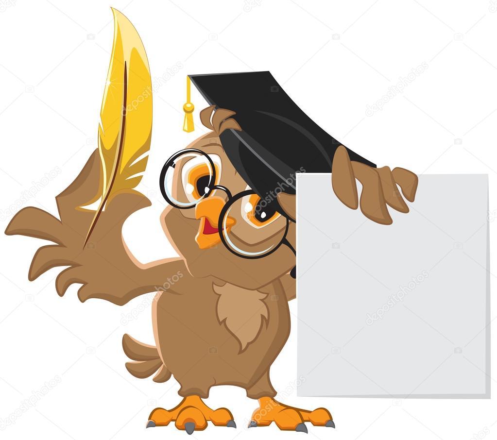 Мудрая сова картинка