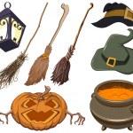 Set halloween symbol — Stock Vector #54261937