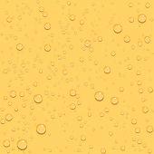 Transparent drop beer seamless background — Stock Vector