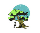 Stylized dream tree — Stock Vector