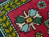 Old carpet fragment — Foto de Stock