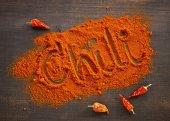 Ground Chili pepper — Stock Photo