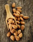 Almond nuts — Stock Photo