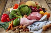 Paleo diyet ürünler — Stok fotoğraf