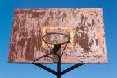 Rusty Backboard — Stock Photo