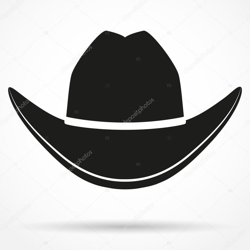 Cowboy Head Silhouette Clip Art