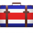 Classic vintage luggage suitcase for travel — Stock Photo #58026091