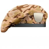 Military Camo Beret Special Forces — Stock Photo