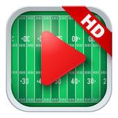 Ikona aplikacji dla transmisji sportowych na żywo lub gry — Wektor stockowy