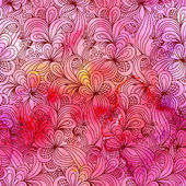 Seamless abstract hand drawn pattern — Stock Photo