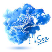 Sea shell — Stock Vector