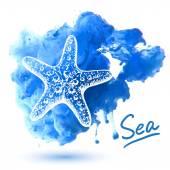 Sea star — Stock Vector