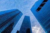 Urban buildings skyscrapers — Stock Photo