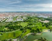 Aerial view of Olympiapark, Munich, Germany — Stock Photo