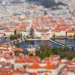 View of Charles Bridge over Vltava river, Prague — Stock Photo #54111157