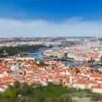 View of Charles Bridge over Vltava river, Prague — Stock Photo #54111523