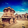 Stone chariot in Vittala temple,  Hampi — Stock Photo #55524759