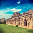 Ancient ruins of Elephant Stables — Stock Photo #55524773