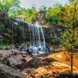 Постер, плакат: Tropical waterfall HDR image