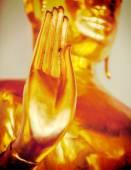 Buddha statue hand,  Thailand — Stock Photo