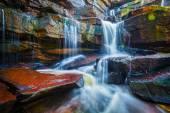 Tropische waterval — Stockfoto