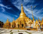 Shwedagon pagoda — Stockfoto