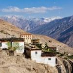 Dhankar village, Spiti valley — Stock Photo #55626019