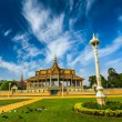 Royal Palace complex in Phnom Penh — Stock Photo #55719155