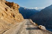 Silnice v himalájích — Stock fotografie