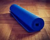 瑜伽垫 — 图库照片