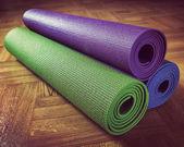 Yoga mat — Stock Photo
