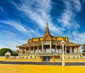 Royal Palace complex in Phnom Penh — Stock Photo