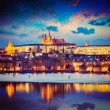 View of Prague in twilight — Stock Photo #57402707