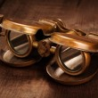 Vintage opera glasses binoculars — Stock Photo #58453367