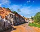 Fairy Stream Suoi Tien, Vietnam — Stock Photo