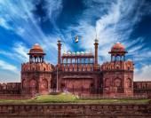 Red Fort Lal Qila. Delhi, India — Stock Photo