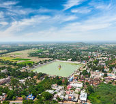 Temple Tank of Lord Bhakthavatsaleswarar — Stock Photo