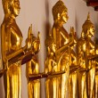 Standing Buddha statues, Thailand — Stock Photo #61703305